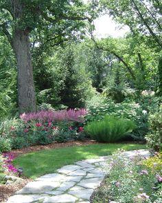 Best Shade Garden Design Ideas (31)
