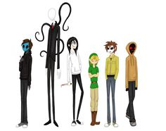 character art | Some Creepypasta Characters by ~TheCheeseburger on deviantART