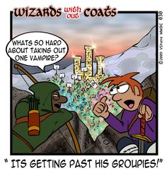 Wizards without Coats: Vampire
