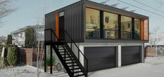 A completely new type of housing is coming to Kelowna.    HONOMOBO is introducing innovative Modern Shipping Container Suites in the city at their pre.on