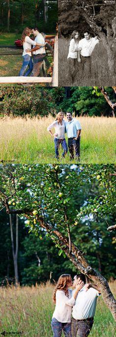 Rosy & Carlos' #summer August 2015 #engagement #portrait at Jockey Hollow!!!   photo by deanmichaelstudio.com   #love #engaged #ring #njengagement #photography #DeanMichaelStudio