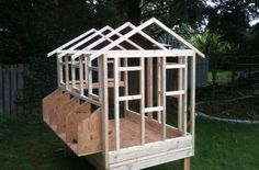 How to build a chicken coop-key point
