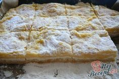 Sypaná tvarohová buchta – Recepti Easy Cake Recipes, Sweet Recipes, Dessert Recipes, Pie Recipes, Sweet Desserts, Delicious Desserts, Vegan Fruit Cake, Vegetarian Breakfast Recipes, Czech Recipes