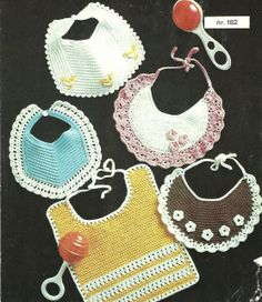 Bare Hæklehopla: Vintage hækleopskrifte r Crochet Baby Pants, Crochet Lovey, Crochet Bebe, Knitting For Kids, Knitting For Beginners, Crochet For Kids, Baby Knitting, Basic Crochet Stitches, Crochet Patterns