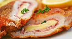 April 4 is...NATIONAL CORDON BLEU DAY   This celebration surrounds the rich history & heritage of Le Cordon Bleu, the world's largest school for hospitality education which originated in France. From the culinary talents of the school emerged an easy but impressive creation that definitely fits the category of blue ribbon quality with or without the 'bleu' cheese - Chicken Cordon Bleu and Veal Cordon Bleu. Chicken has remained the most popular but the classics have taken on many variations.