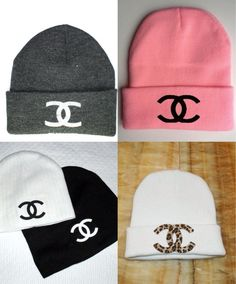 More Chanel beanies!