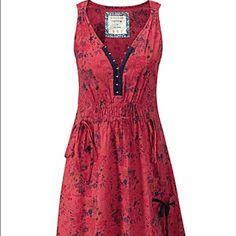 7911472c34 Joe Browns Lummus Park Dress From Simply Be. Red floral pattern dress, tie  back waist, pockets, hook front. Never worn. Size 22 Joe Browns Dresses