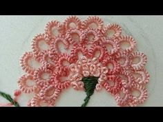 Hand Embroidery and Its Types - Embroidery Patterns Bullion Embroidery, Hand Embroidery Videos, Hand Embroidery Flowers, Learn Embroidery, Hand Embroidery Stitches, Silk Ribbon Embroidery, Hand Embroidery Designs, Embroidery Techniques, Brazilian Embroidery