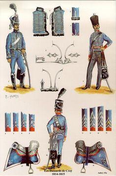 Legion Belge - 8eme hussards (Hussards de Croy) 1814-15