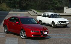Alfa Romeo 159 past and today
