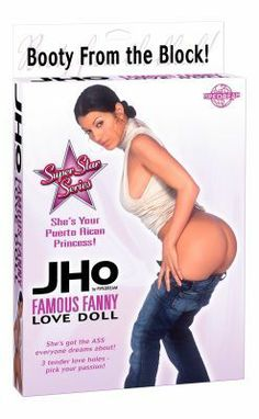 J-Ho Famous Fanny Love Doll $23.95 plus $4.00 shipping. by Pipedream Products SKU: AA127 In Stock