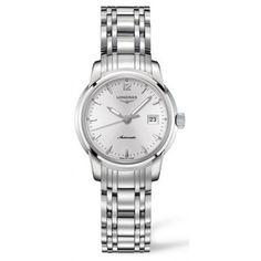 724068d02fa Longines Saint Lmier Stainless Steel Automatic Ladies Watch LNG25634726