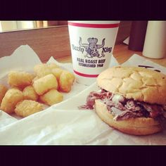 Local Eats in Orlando ~ Beefy King since 1968...My favorite local food with MY FAVORITE LOCAL...JB