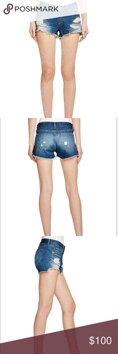 Rag & Bone Denim Short Cut Off Distressed New Brand new with tags! Rag and bone Freeport cut off shorts size 27! MAKE AN OFFER! rag & bone Shorts Jean Shorts