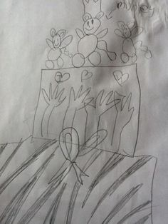 As I previously posted, Sam has been very specific in her birthday cake requests. This is the sketch she gave me… So, she wanted the bottom layer to be zebra skin to match her room. I treated…
