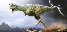 Carnotaurus. ROM by Swordlord3d.deviantart.com on @DeviantArt