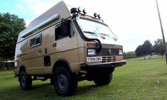 Expedition Motorhome Journal - Pick up some ideas! Vw Lt Camper, Off Road Camper, Truck Camper, Camper Trailers, Volkswagen Transporter, Vw T5, Vw Lt 4x4, Rv Financing, Adventure Campers