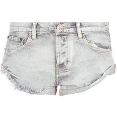 DASH One Teaspoon Smoke Bandit Short shopdashonline.com ($108) ❤ liked on Polyvore featuring shorts, torn shorts, destroyed shorts, jean shorts, distressed jean shorts and destroyed jean shorts