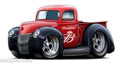 1940 Ford Pickup Truck Flathead
