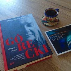 """Górecki. Geniusz i upór"" Marii Wilczek-Krupy   Literatura sautée Cover, Books, Biography, Literatura, Livros, Slipcovers, Book, Libros, Blankets"