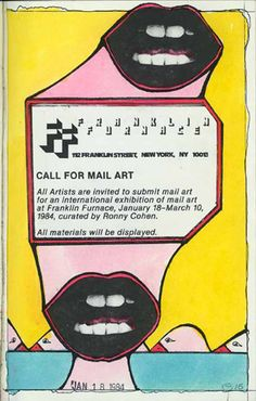 John Evans, 1984.  Mixed-media collage on paper, 8 x 5 inches