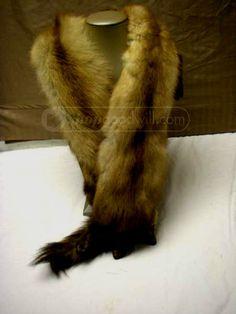 Vintage Ullman Brown  Mink Fur Collar  #Ullman #Collar