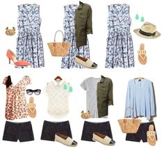The Spring Closet: Outfits! #bloggerstyle