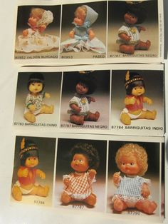 Barriguitas da Famosa Childhood Toys, Childhood Memories, Vintage Dolls, Retro Vintage, Toy Catalogs, Curious Cat, Sweet Memories, Mini Me, My Memory