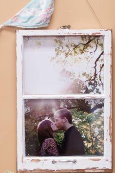 Vintage Window Pane Wedding Reception Brossie Belle