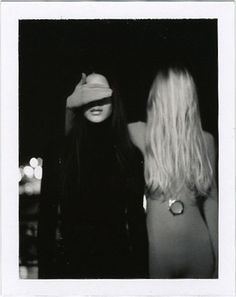 A Polaroid taken by Lina Scheynius.