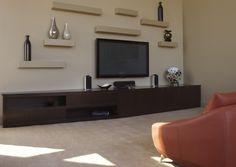 inspiring living room floating shelves | 31 Best Floating tv stand images | Floating tv stand, Wall ...