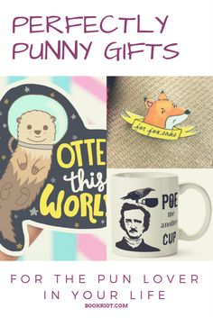 20 awesome products that would make perfect gifts for the pun lovers in your life.