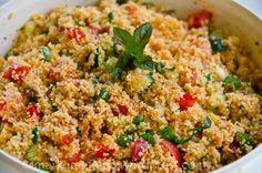 Für den Grillabend: Orientalischer Couscous-Salat mit Minze