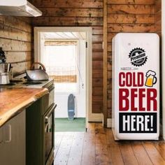 Vinilos Decorativos Stickers Cold Beer Here  #viniloscasa #vinilosdecorativos #pegatinas #adhesivos #decoracioninteriores #pegatinasparedes #decoracionparedes #decorarparedes #frases #home #followme #beer #coldbeer #follow
