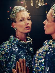 Kate Moss - Photo: Tim Walker, Vogue, April 2012