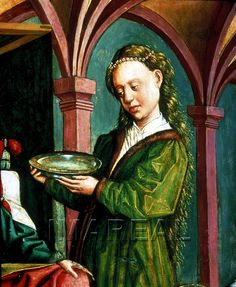 Geburt Mariens Kunstwerk: Temperamalerei-Holz ; Tafelbild ; Tirol  Dokumentation: 1480 ; 1490 ; Innsbruck ; Österreich ; Tirol ; Tiroler Landesmuseum Ferdinandeum ; IN 1224  Anmerkungen: 88x70,2