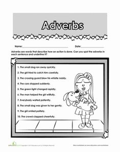 Train your second grader's grammar eye by helping him practice identifying adverbs in context.