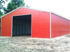 Metal Garage Prices - Save your Garage Building at the lowest cost today with the updated prices of Metal Garages. Buy Robust Steel Buildings at the Competitive Prices. Metal Building Prices, Metal Shop Building, Building A Garage, Building A House, Car Garage, Prefab Metal Buildings, Metal Garages, Shop Buildings, Steel Buildings