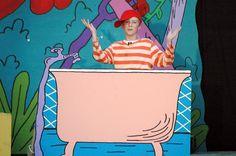 JoJo in the tub
