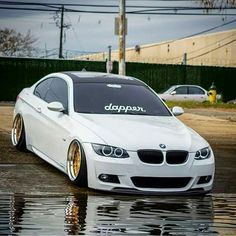 BMW E92 3 series white dapper
