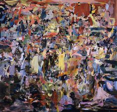blastedheath:  killthecurator Cecily Brown, Why Are Their People Like Frank in the World?, 2008-09. Oil on linen