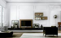 Contemporary armchair / fabric - LA SALA - CARRE furniture