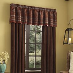 Veratex Pueblo Valance and Curtains Drapes - With Love Home Decor