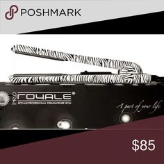 💁🏻Royale Zebra Classic Hair Straightener💁🏻 Perfect condition! Soft touch straightener that can be used to create beautiful curls as well. Royale Accessories