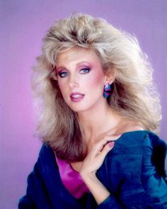 Morgan Fairchild: Met her at another Celebrity Breakfast held in her honor.Nice lady,gave her one of my records.