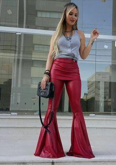 Trend das Bloggers: Calça flare com saia sobreposta – M de Maria SM