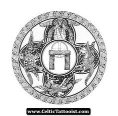 Celtic Tattoos Vorlagen 04 - http://celtictattooist.com/celtic-tattoos-vorlagen-04/