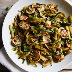 Mar 2020 - Serve this simple side dish with grilled turkey burgers. Other fresh herbs, like thyme or oregano, work well too. Vegetable Side Dishes, Side Dishes Easy, Side Dish Recipes, Vegetable Recipes, Veggie Food, Recipes Dinner, Mushroom Zucchini Recipe, Mushroom Recipes, Hamburger