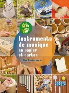 Instruments de musique en papier et carton - Max Vandervorst (septembre 2012) Preschool Music, Music Crafts, Music School, Baby Music, Cycle 3, Music Classroom, Montessori, Children, Kids