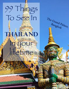 Thailand is so much more than just temples and beaches. Come with us on a journey of 99 of the Kingdom of Siam's most exhilarating experiences – from ziplining in the jungle, caring for elephants and munching on insects to serene island life, diving in the Andaman Sea and eating the world's stinkiest fruit.